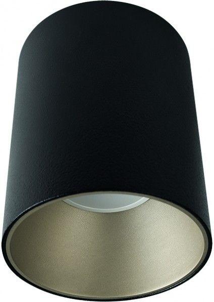 Tuba natynkowa czarno srebrna Eye Tone GU10 nowoczesna 8932 - Novodworski Do -17% rabatu w koszyku i darmowa dostawa od 299zł !