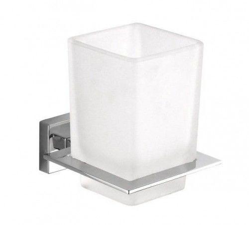 APOLLO uchwyt kubek mleczne szkło 80 x 98 x 101 mm