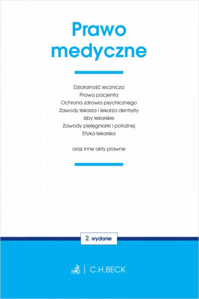 Prawo medyczne oraz inne akty prawne wyd. 2020 ZAKŁADKA DO KSIĄŻEK GRATIS DO KAŻDEGO ZAMÓWIENIA