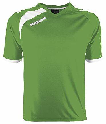 Kappa Pavie SS koszulka piłkarska dla dorosłych, uniseks, kolor zielony