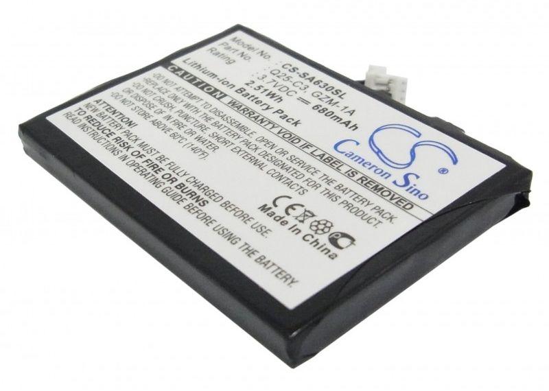 Philips GoGear HDD6330 30GB / Q25-C3 680mAh 2.52Wh Li-Ion 3.7V (Cameron Sino)