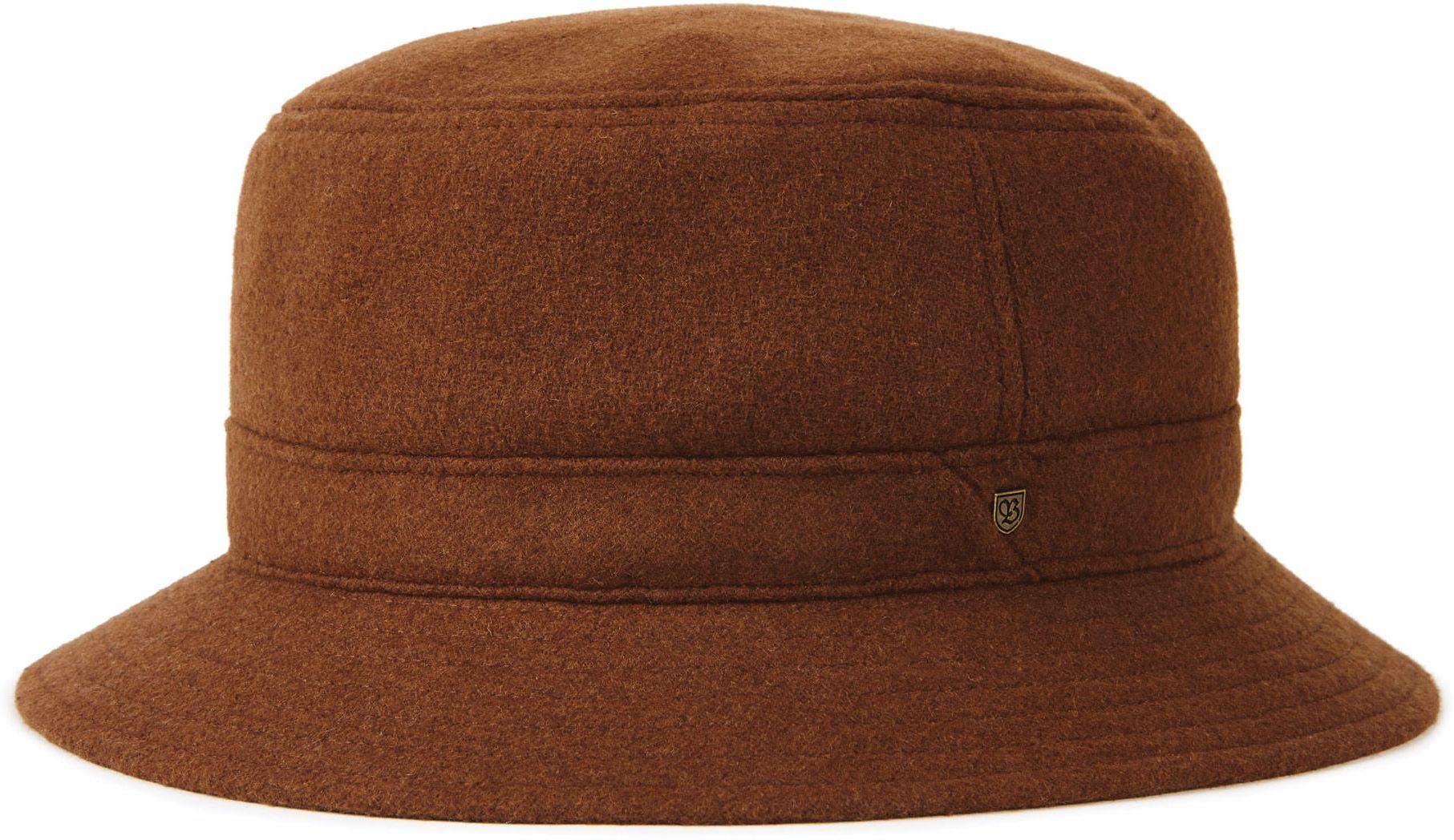 kapelusz BRIXTON BURROUGHS BUCKET HAT Coffee