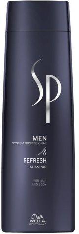SP Men Refresh - odświeżający szampon do włosów i ciała 250ml