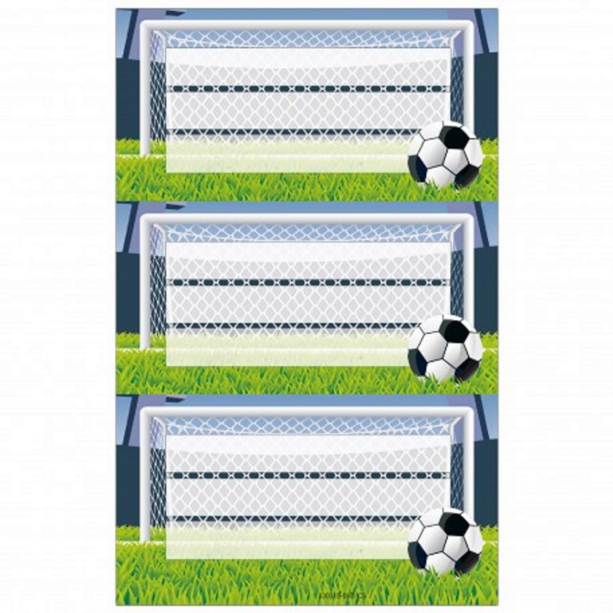 Naklejki na zeszyty Herlitz Piłka Nożna z Piłką