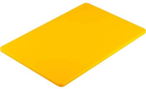 Deska do krojenia 450 x 300 Żółta HACCP