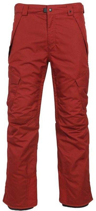 spodnie 686 - Infinity Insl Cargo Pant Rusty Red (RUS)