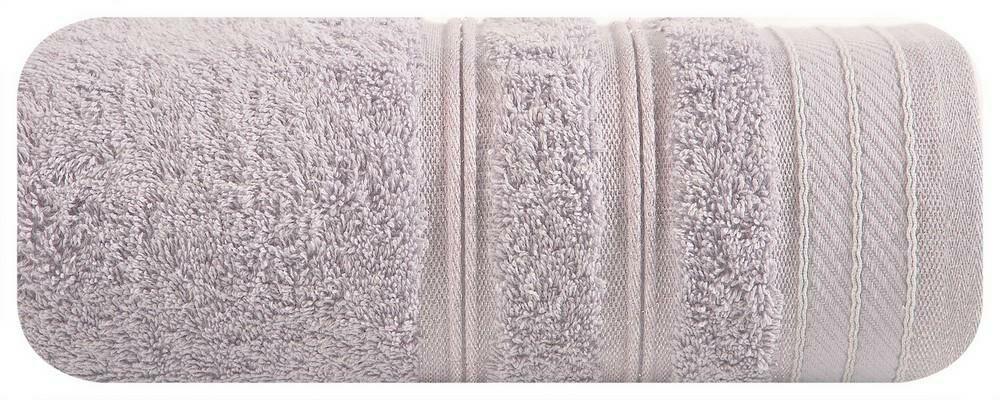Ręcznik Wiki 50x90 08 wrzosowy srebrne nitki 480 g/m2