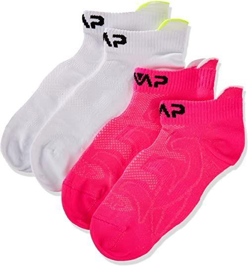 CMP skarpety dziecięce uniseks biały Bianco-Pink Fluo 34W / 36L