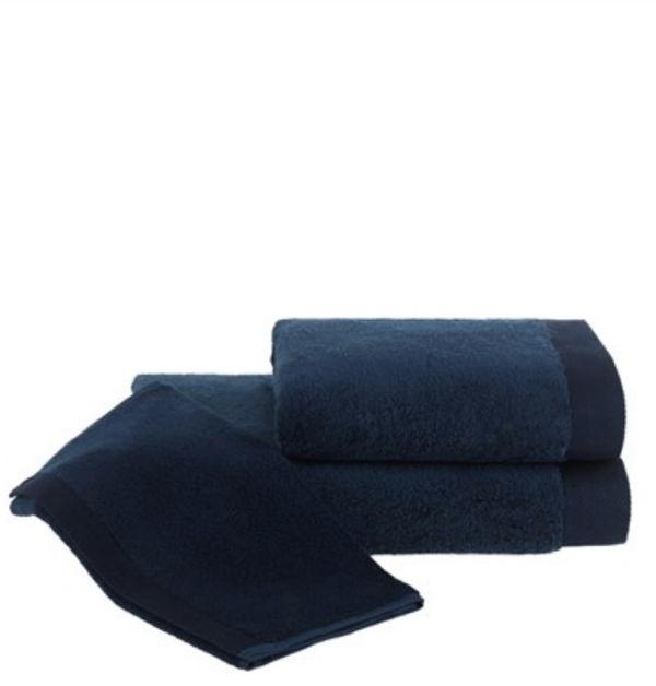 Ręcznik kąpielowy MICRO COTTON 75x150cm Ciemnoniebieski