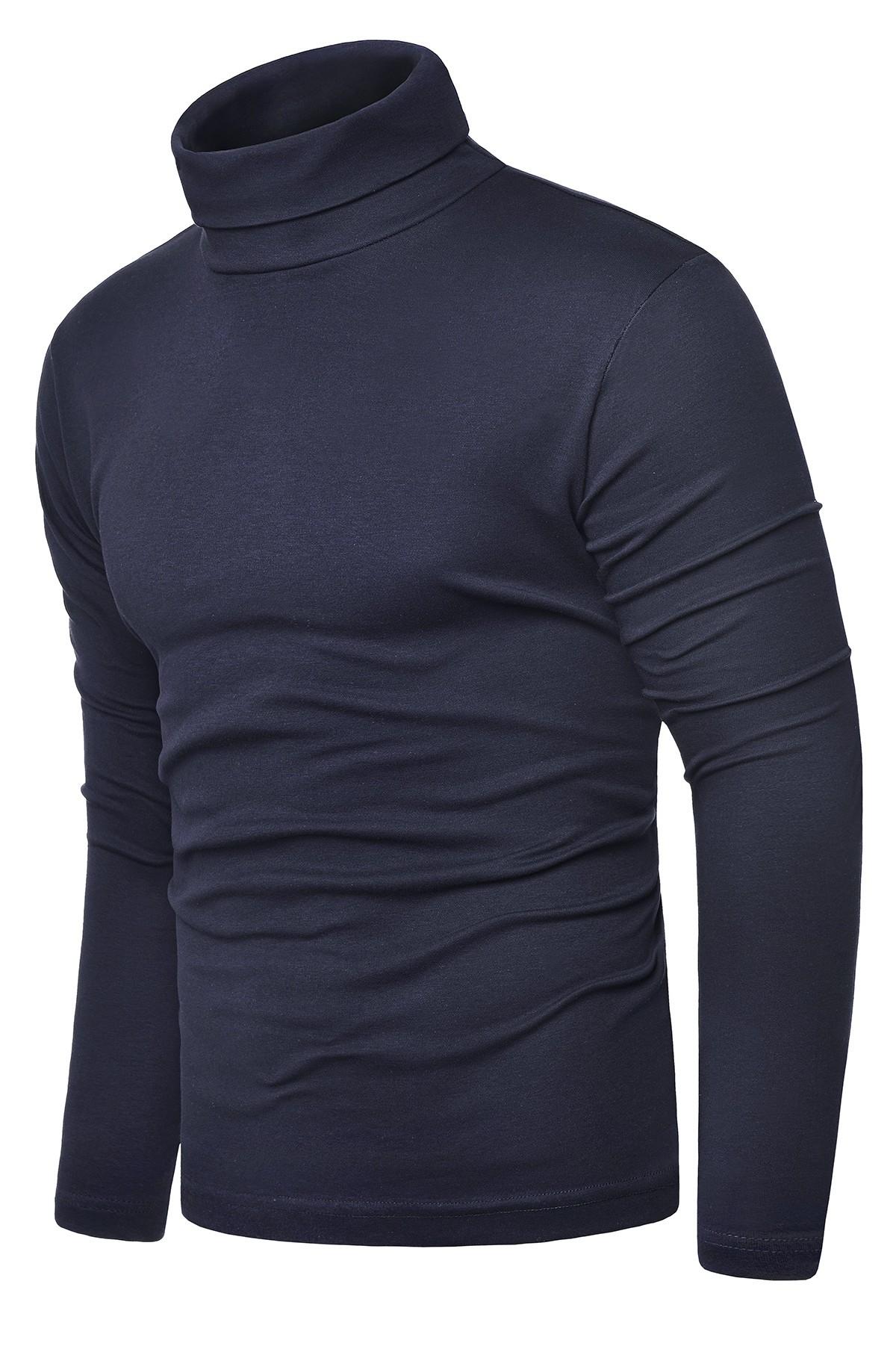 Bluza golf męski cmr6059 - stalowy