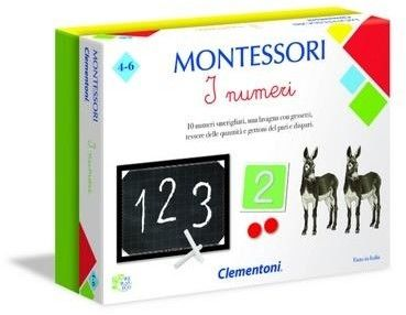 Clementoni Gra Montessori Cyferki 50096
