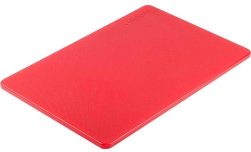 Deska do krojenia 450 x 300 Czerwona HACCP