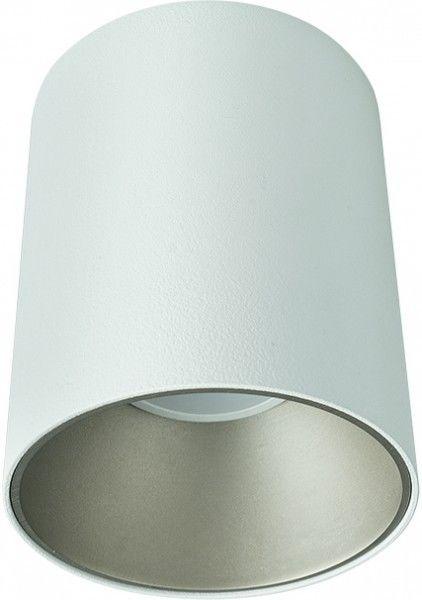 Tuba natynkowa biało srebrna Eye Tone GU10 nowoczesna 8928 - Novodworski Do -17% rabatu w koszyku i darmowa dostawa od 299zł !