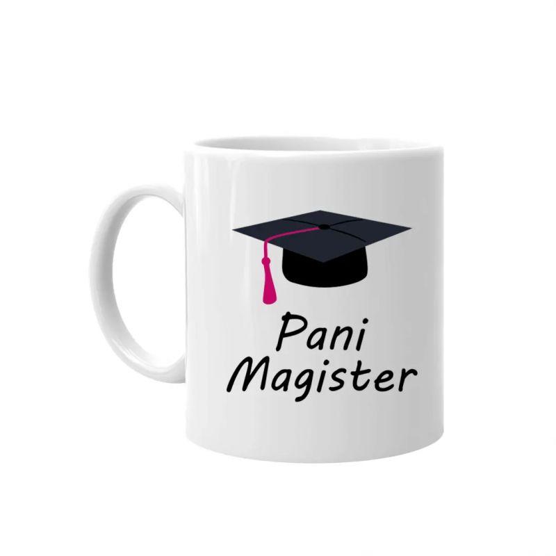 Pani magister - kubek z nadrukiem