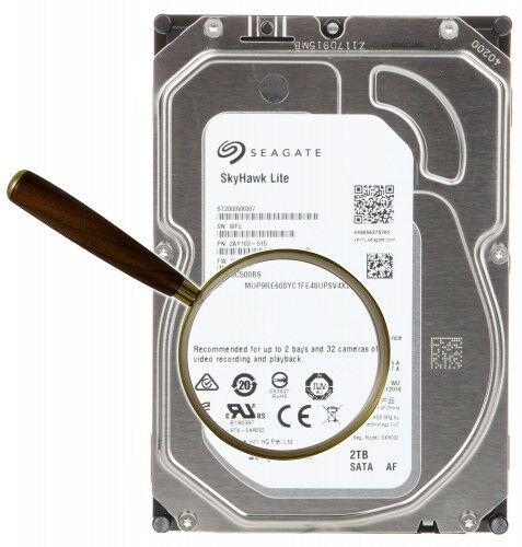 DYSK DO REJESTRATORA HDD-ST2000VX007 2TB 24/7 SkyHawk Lite SEAGATE