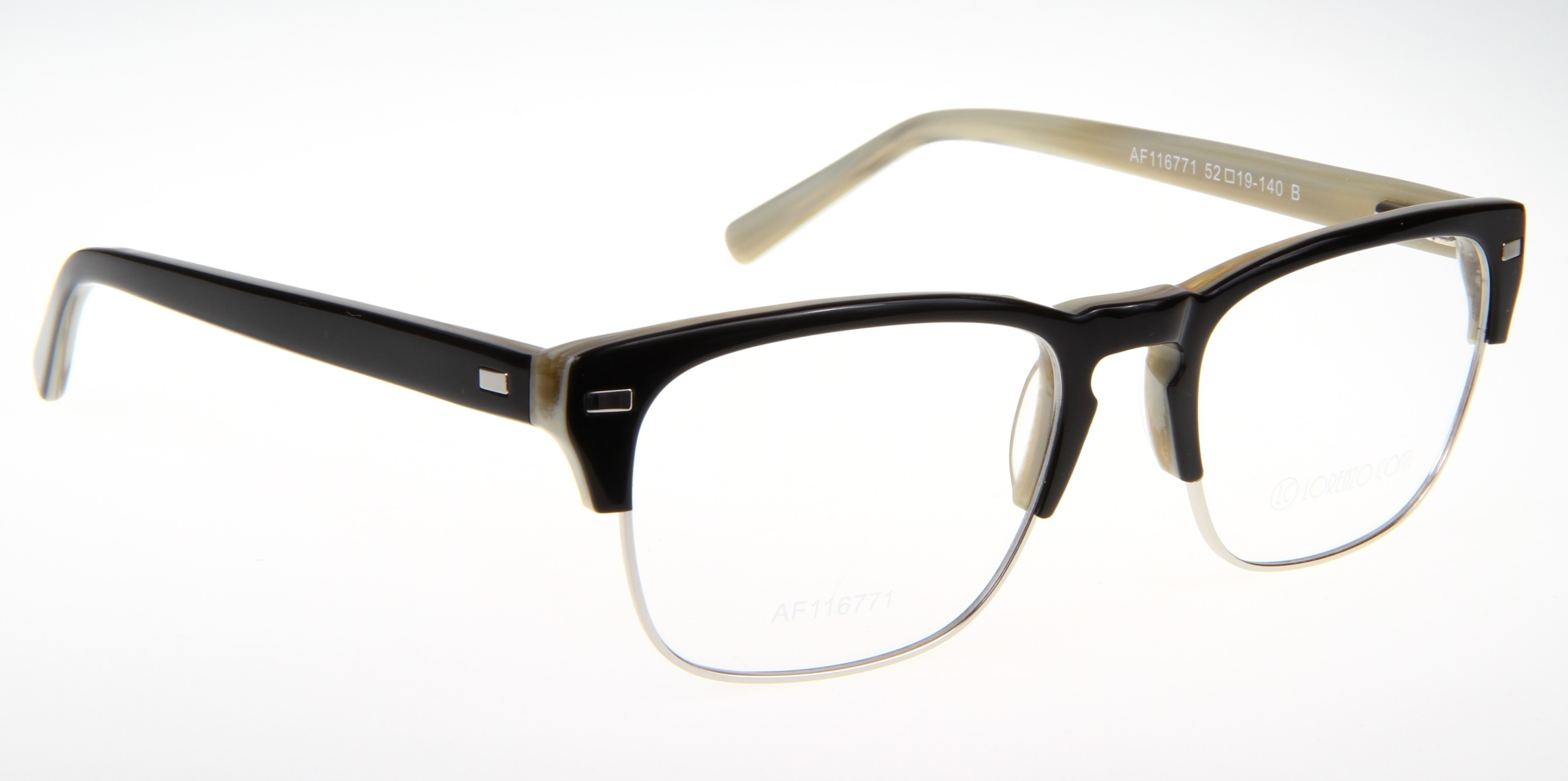 Oprawki okularowe Lorenzo AF116771 col. B czarno-beżowy