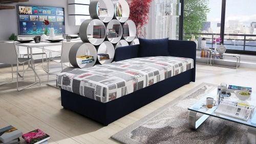 Łóżko młodzieżowe polo 80x200 wersja 2