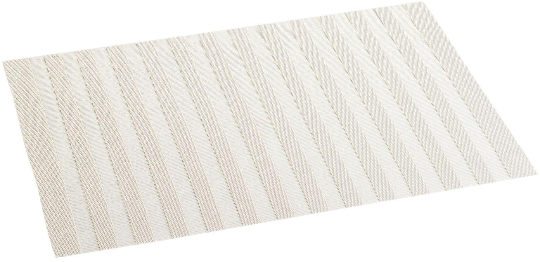 DECORLINE podkładka pod talerz 30 x 45 PCW ogród, beżowy (naturalny), 30 x 45 cm