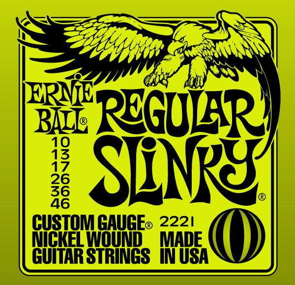 ERNIE BALL EB 2221 - struny do gitary elektrycznej