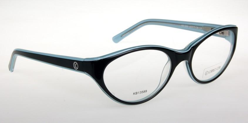 Oprawki okularowe Lorenzo KB13589 C2 czarny-seledyn