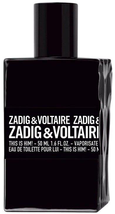 Zadig & Voltaire This is Him! No Rules Capsule Collection woda toaletowa dla mężczyzn 50 ml