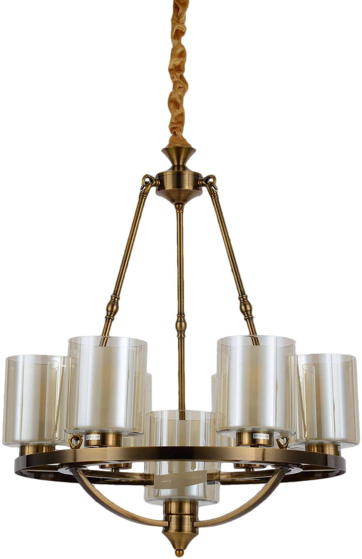 LAMPA WISZĄCA LOFT MOSIĘŻNA SANTINI W7 LUMINA DECO - zyskaj 5% RABATU z kodem DAMI5!
