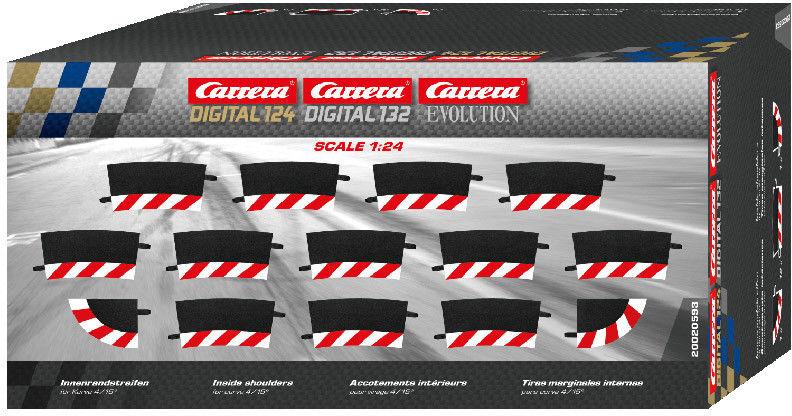 Carrera EVO / DIGITAL 132 / 124 - Wewnętrzne poszerzenie zakrętu 4/15 20593