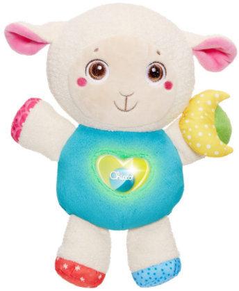 Chicco Owieczka z Nocną Lampką 0m+ Chicco Owieczka Lily z Lampką i Melodiami First Love 0m+