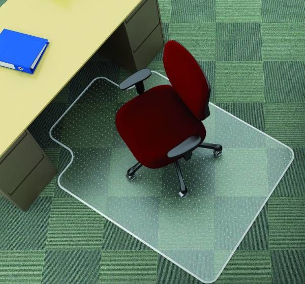 Mata pod krzesło T na dywany 1143 x 1346 mm - X07337