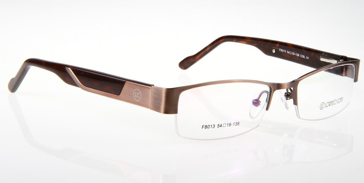 Oprawki okularowe Lorenzo F8013 C14 brąz