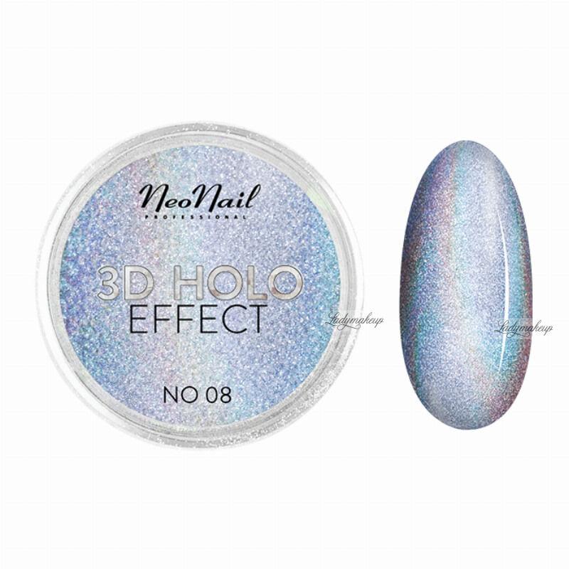 NeoNail - 3D HOLO EFFECT - Holograficzny, trójwymiarowy pyłek do paznokci - 5329-8