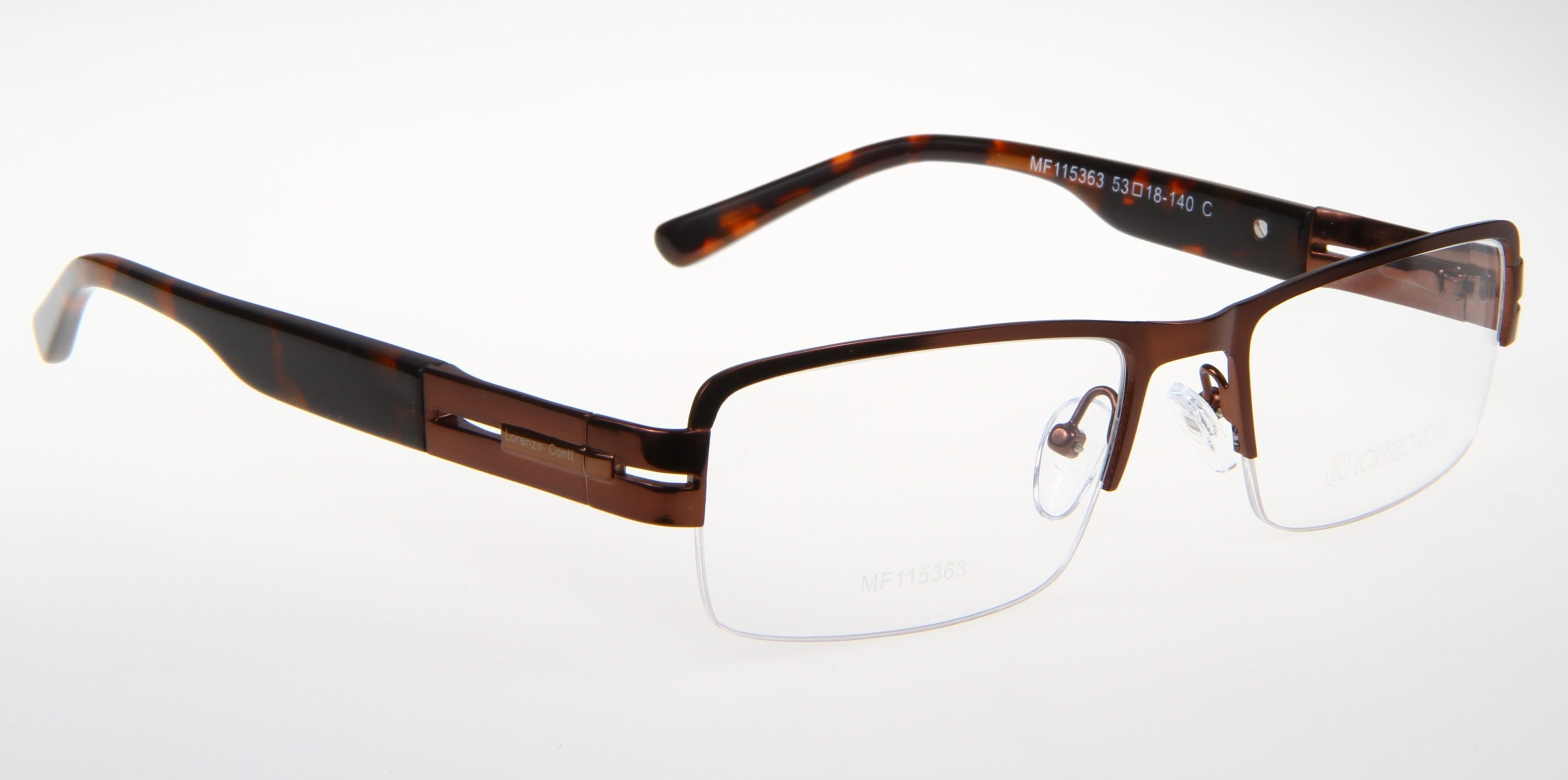 Oprawki okularowe Lorenzo MF115363 col. C brązowy