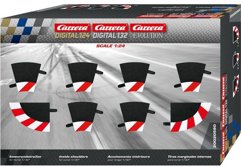 Carrera EVO / DIGITAL 132 / 124 - Wewnętrzne poszerzenie zakrętu 1/30 20590