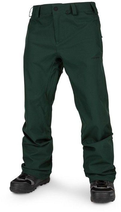 spodnie VOLCOM - Freakin Snow Chino Dark Green (DKG