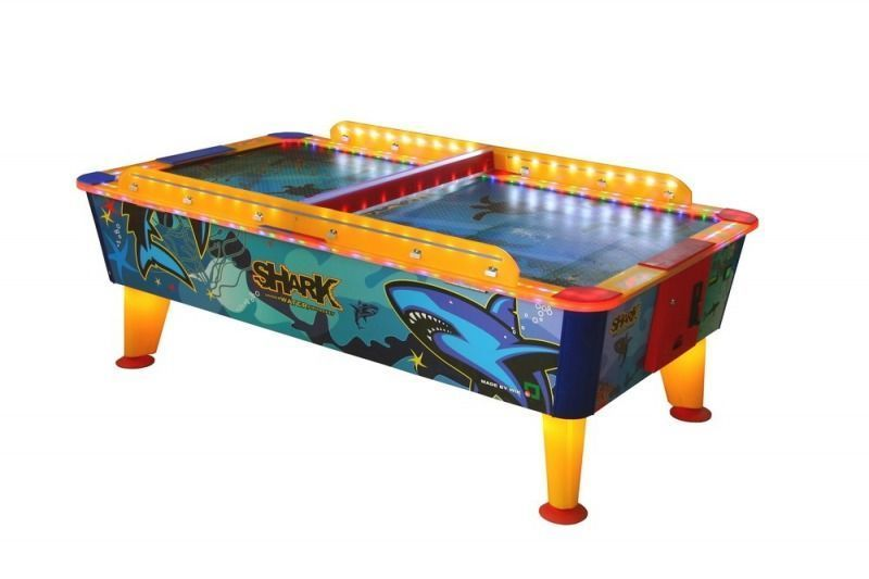 Cymbergaj Air Hockey Shark Outdoor 6FT - 6FT