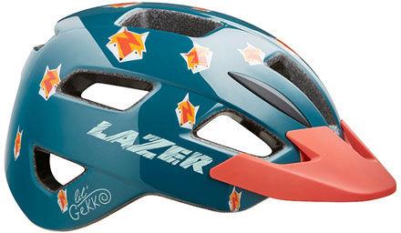LAZER kask rowerowy dziecięcy/juniorski LIL GEKKO CE-CPSC fox BLC2207888204 Rozmiar: 46-50,BLC2207888204