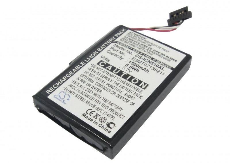 Navman iCN 510 / E3MT07135211 1500mAh 5.55Wh Li-Ion 3.7V (Cameron Sino)