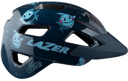 LAZER kask rowerowy dziecięcy/juniorski LIL GEKKO CE-CPSC Sharky BLC2207888261 Rozmiar: 46-50,BLC2207888261