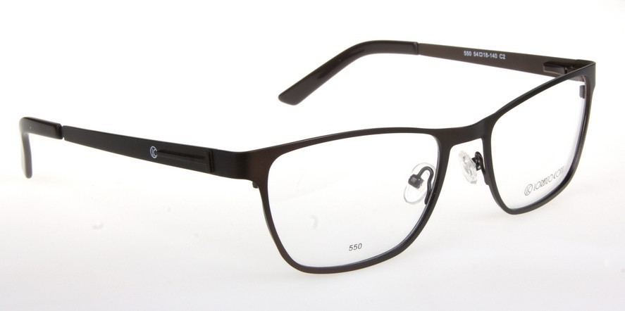 Oprawki okularowe Lorenzo 550 C2 brąz mat