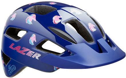 LAZER kask rowerowy dziecięcy/juniorski LIL GEKKO CE-CPSC Pony BLC2207888207 Rozmiar: 46-50,BLC2207888207