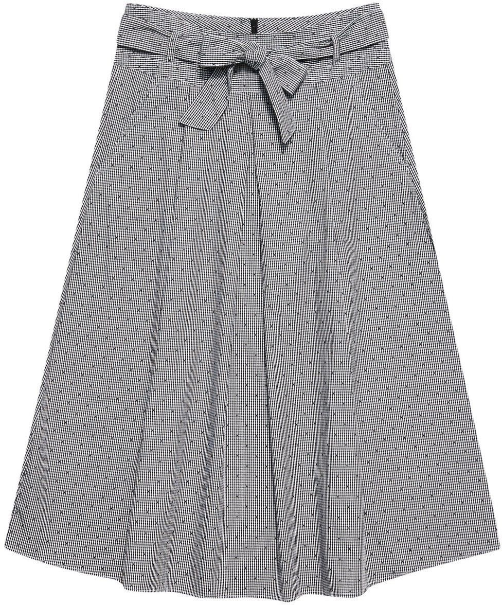 Bawełniana spódnica w kratkę
