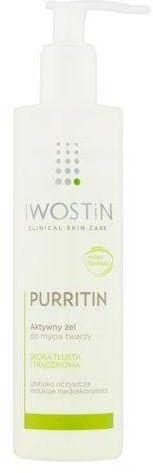 Iwostin Purritin aktywny żel do mycia twarzy 300 ml