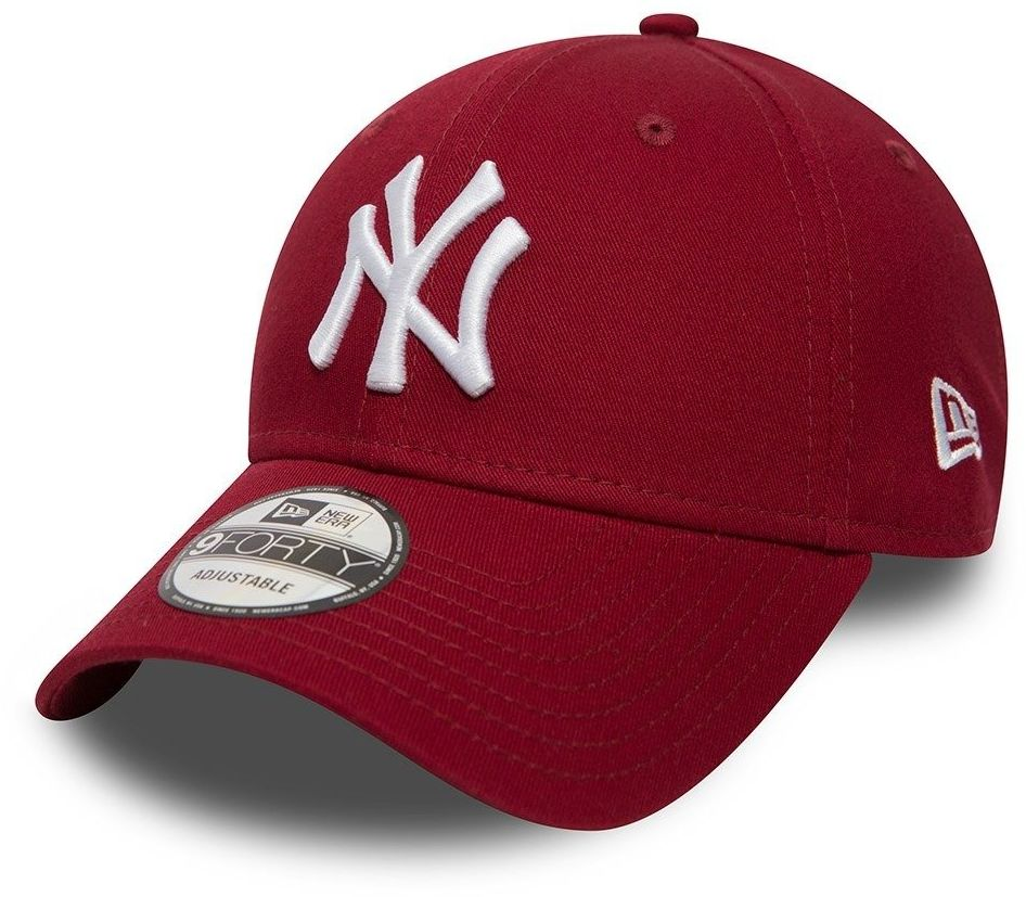 Czapka z daszkiem New Era 9FORTY MLB New York Yankees bordo - 80636012