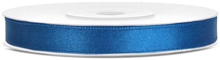 Tasiemka satynowa 6mm niebieska 25m 1szt. TS6-001