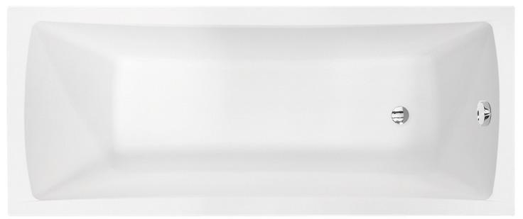 Besco Optima 150x70cm wanna prostokątna + obudowa + syfon #WAO-150-PK/#OAO-150-PK/19975