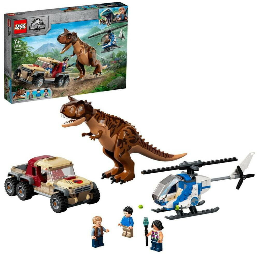 LEGO - JURASSIC WORLD - POŚCIG ZA KARNOTAUREM - 76941
