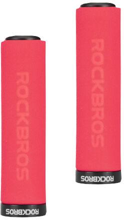 Rockbros piankowe gripy chwyty kierownicy, czerwone BT1001RDBK,5907443977287