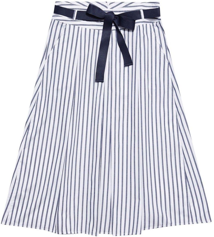 Bawełniana spódnica w paski