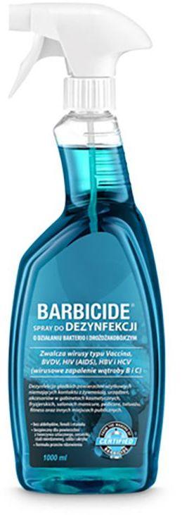 Barbicide spray do dezynfekcji wszystkich powierzchni 1000 ml bez zapachu