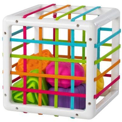 Elastyczna kostka sorter InnyBin Fat Brain Toys